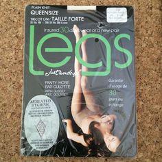 Vintage Legs Just Wonderful XXL Queen Sz Pantyhose Color Nude Model Autumn Haze #Legs #SpecialOccasion