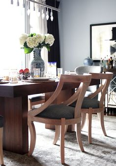 serena and lily dining chairs