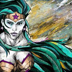 DC Superheroes byAndreas Preis