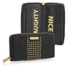 Rebecca Minkoff Naughty Nice Wallet, Black