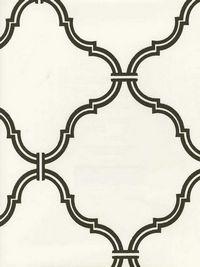 Modern damask wallpaper