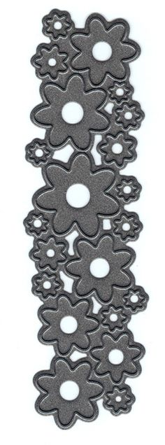 Marianne Designs Craftable Dies - Punch Die - Flowers. Craftable Dies - Punch die - Flowers. The flower die cuts different sized flowers from your cardstock lik