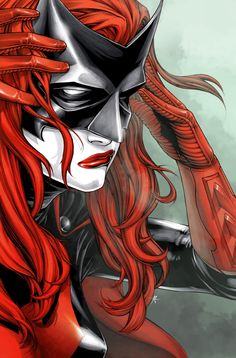 Batwoman #1, variant cover by Amy Reeder