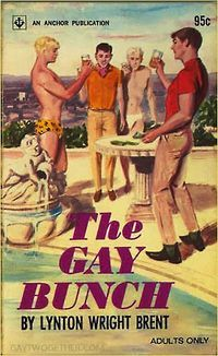 Vintage Gay Impressions, Unintentionally Funny Vintage Book Cover. OMG, Gay has come a long way baby .