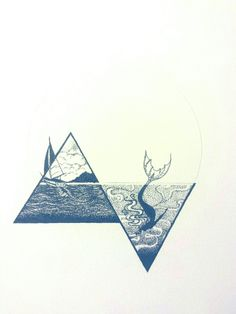 Our Thread - ink illustration by Angie Coonts