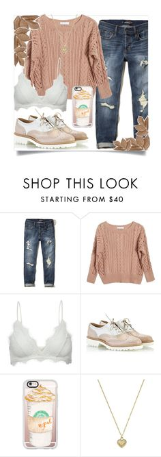 """""""Oxford Shoes"""" by nicoles-edits ❤ liked on Polyvore featuring Hollister Co., Ryan Roche, Anine Bing, Fratelli Karida, Casetify, Michael Kors and Bliss Studio"""