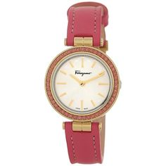 Intreccio Genuine Topaz Bezel Pink Watch