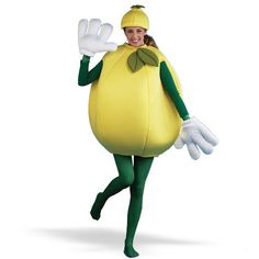 Костюм лимон