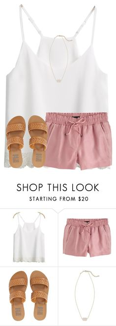 """""""road trip !"""" by ponyboysgirlfriend ❤ liked on Polyvore featuring J.Crew, Billabong and Kendra Scott"""