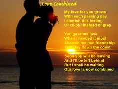 Christin's Poems About Love And Life: Love Combined