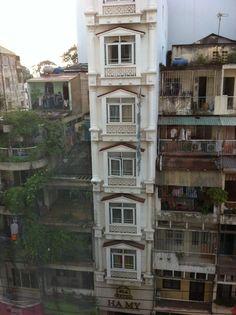 A small hotel  in Saigon Vietnam