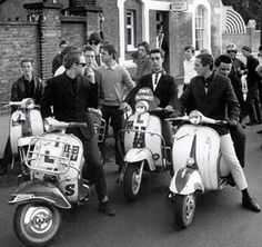 #Mods #Scooter #60s