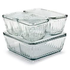 Anchor Glass Containers Set—Manufactum