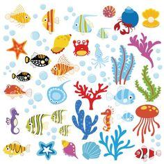 Ocean Wonders Decorative Peel & Stick Wall Art Sticker Decals CherryCreek Decals http://smile.amazon.com/dp/B00IYCFI26/ref=cm_sw_r_pi_dp_FKVbvb05BH1Y4