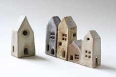 Set of 5 of individually handmade little by stonewarestudiouk, £38.00