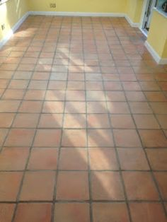 Stone Floor Cleaning Cambridge: Terracotta Polishing in the Conservatory