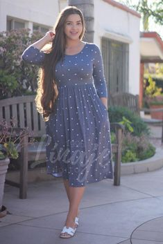 New collection Modest Dresses Modest Dresses, Modest Outfits, Modest Fashion, Cute Dresses, Casual Dresses, Fashion Dresses, Apostolic Fashion, Frock Dress, Dress Skirt