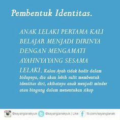 Pembentuk identitas Family Rules, Study Inspiration, Muslim Quotes, People Quotes, Quotes For Kids, Kids Education, Kids And Parenting, Psychology, Knowledge