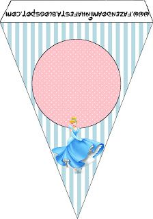 Cinderela - Kit Completo com molduras para convites, rótulos para guloseimas, lembrancinhas e imagens!