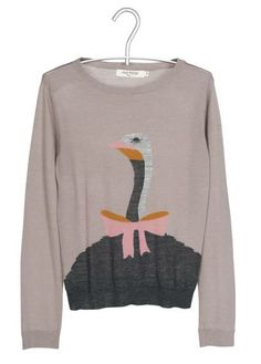Pull jacquard laine  Beige by NICE THINGS