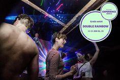 Double Rainbow præsenterer Northside uofficiel Afterparties: Fredag og lørdag er den elektroniske musik i fokus på Double RainBow, når dørene åbnes for de danseglade. Der vil være fest og farver, bas og stearinlys, øko-øl og laser, kakao og kærlighed og meget mere... Bag pulten vil man blandt mange andre kunne finde Esben Valløe og Jakob fra Reptile Youth. Gratis entré. #EXNS14 #DoubleRainbow #SpisOgDrik #OplevOgSe #NSdeal