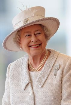 A lovely photo of Queen Elizabeth!