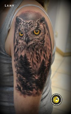 Techniques And Strategies For arm tattoo Owl Forearm Tattoo, Mens Owl Tattoo, Stag Tattoo, Forearm Tattoo Design, Body Art Tattoos, New Tattoos, Tribal Tattoos, Sleeve Tattoos, Owl Tattoo Design
