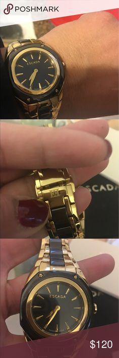 Escada watch Beautiful  Authenthic Escada watch Jewelry