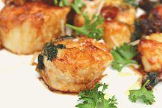 Garlic Parmesan Crusted & Caramelized Scallops – Simply Taralynn