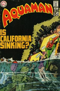 This is the Aquaman I grew up with. Cover by Nick Cardy. Dc Comic Books, Comic Book Artists, Comic Book Covers, Comic Artist, Dc Comics, Aquaman Comics, Black Manta, Silver Age Comics, Classic Comics