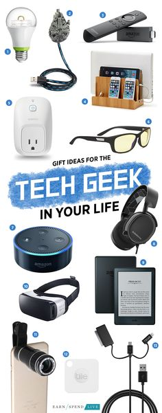 27d692aca884 Gift Ideas for the Tech Geek in Your Life