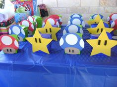 Mario Brodthers Birthday Party Ideas | Photo 2 of 16 | Catch My Party
