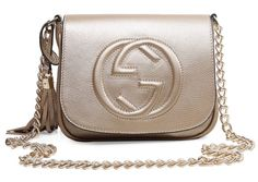 f60b28283474 Gucci Bags Outlet, Cheap Gucci Bags, Leather Chain, Leather Tassel, Calf  Leather