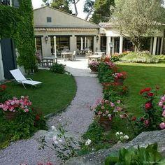 Beautiful large backyard