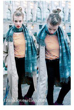 Berlin Streetstyle {Burberry Trench} (by Franklovesellen <3) http://lookbook.nu/look/4298735-Berlin-Streetstyle-Burberry-Trench    #fashion #style #trenchcoat #inspiration #berlin #european #chanel #flatforms #ootd #outfitoftheday #burberry #cos