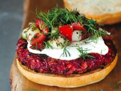 Sweet and Smoky Beet Burgers