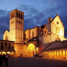 La basilica di San Francesco, Assisi, Umbria