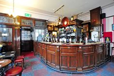 Duke William bar, Stoke-on-Trent  When it was rebuilt in 1929 - in addition to the curved wooden bar pictured below - the Duke William in Stoke-on-Trent featured ladies toilets for the first time.