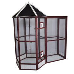Advantek Gone Green Portico Bird Aviary - keep bird outdoors?