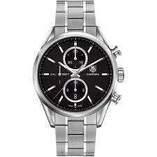 TAG Heuer Men's CAR2110.BA0724 Carrera Analog Display Swiss Automatic Silver Watch #best #sellers #luxury #watches