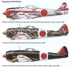 Historine: Le Nakajima Ki-44 (Tojo)
