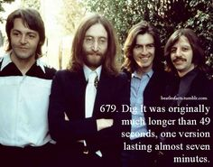 Hellooooo I'm Kristin! This blog is for the Beatles, I publish facts about them here about their...