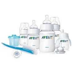 I love these bottles. No air intake. Philips AVENT BPA Free Classic Infant Starter Gift Set by Philips AVENT, http://www.amazon.com/dp/B004HFQOLI/ref=cm_sw_r_pi_dp_Uf2Uqb0XTJG68