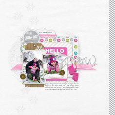 Photo swap for Georgina - Hello Snow - Digital Scrapbooking Ideas - DesignerDigitals