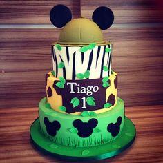 Mickey Safari Cakes