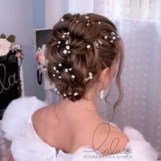 Cute Braided Hairstyles, Easy Hairstyles For Long Hair, Dress Hairstyles, Pretty Hairstyles, Hair Upstyles, Long Hair Video, Hair Jewels, Pinterest Hair, Hair Beauty