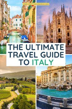 The Ultimate Guide to Italy | packing for italy, travel to italy, italy travel tips, travel italy, rome travel tips, italy itinerary, italy tips, what to do in italy, traveling in italy, italy travel destinations, vacation italy, italy vacation, where to go in italy, best places in italy, visit Italy #italy #europe #traveldestinations #traveltips #travelguide #travelhacks #bucketlisttravel #amazingdestinations #travelideas #traveltheworld