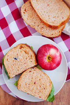 Panera's Mediteranean Veggie Sandwich