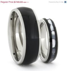 Super Sale 10% Off Ebony Wood with Mother of by jewelrybyjohan