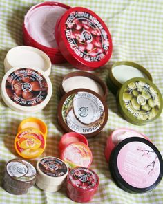 The Body Shop BODY BUTTER, need I say more!!!!
